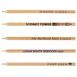 LRL10S - Round Full Length Timber Hb Pencils