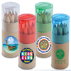 WL193 - Coloured Pencils in Cardboard Tube